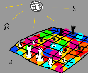 80s chess disco competition