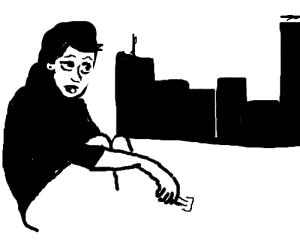 shaving legs in the city