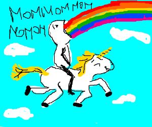 Eating rainbows and riding unicorns