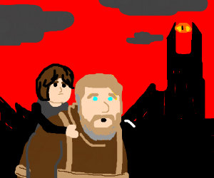 One does not simply Hodor into Mordor