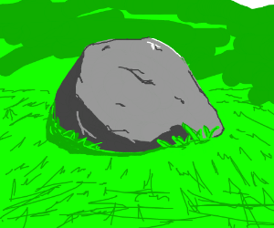 The best darned picture of a rock you can draw