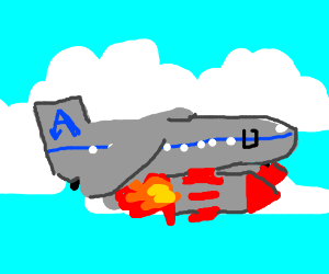 Airliner, now armed with missiles