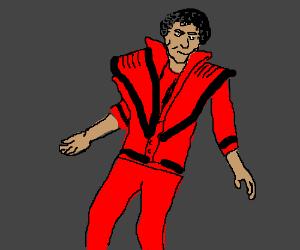 CUZ THIS IS THRILLER! Thriller night.. *DANCE*