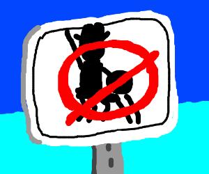 No horseplay