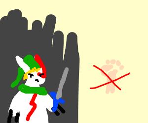 Do not punch Link Zangoose.