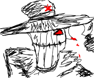 Communist Scarecrow