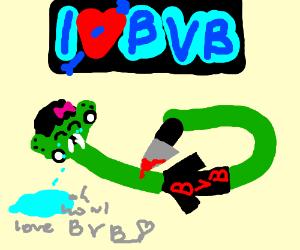 SceneSnake loves Black Veil Brides