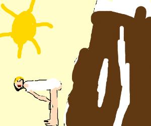 Miley attempts twerking on Mount Everest