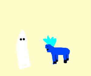 KKK inducts blue My Little Pony into the Klan