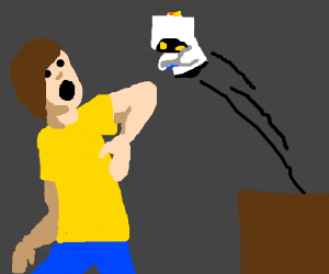 Man's robot mo goes rogue