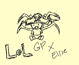 Gangplank and Elise had a baby.