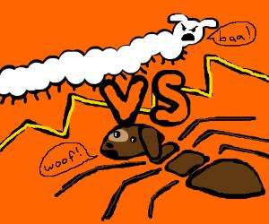 Sheepipede vs. Ant-dog