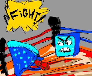 blue pizza vs mad ice