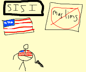 ISIS in an alternate universe