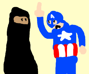 America and Isis hate Muslims