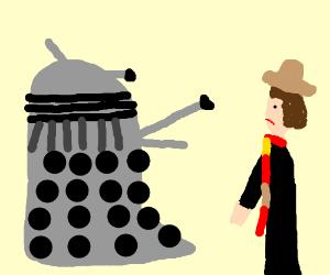 Dalek exterminates tom baker