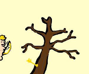Dead Tree has been struck by Cupid.