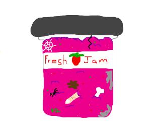 Disgusting jam