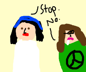 Flo can't stop hippy