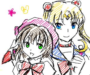 Cardcaptor Sakura and Sailor Moon