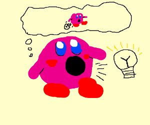 Kirby absorbs lightbulb, gets sexuallyConfused