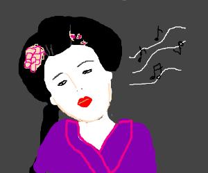 Singing Geisha