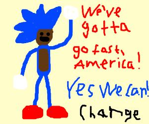 Obama The Hedgehog