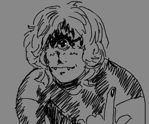 Weird boy cyclops
