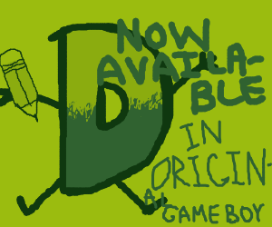 Drawception, now available on original Gameboy