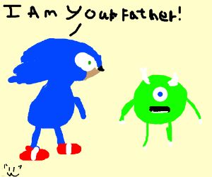 Sonic tries being Mike Wisosky's dad.