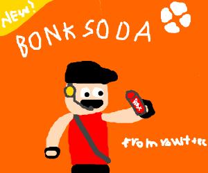 "New ""Bonk"" Soda from Vault-Tec"