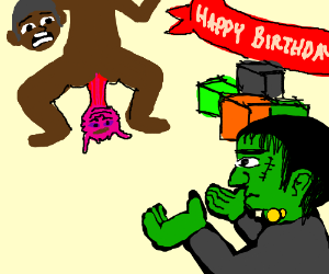 Frankenstein has no present for anal prolapse