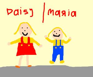 Daisy and Maria!