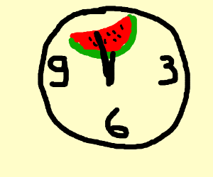 It's time for watermelon!