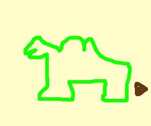 green joe camel turd
