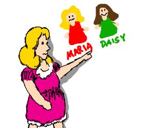 Daisy and Maria drawception troll returned?