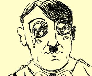 Hitler hopes Senpai notices him