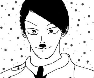 Manga Hitler Is Happy