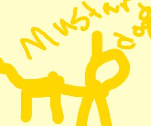 LAXERS, shrek's mutated dog.