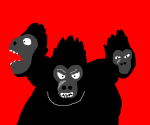 If Cerberus was a Gorilla.