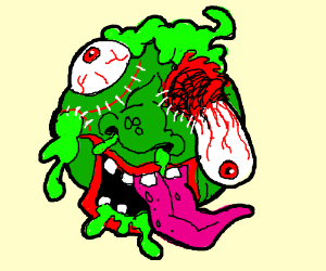 An indescribable demon spawn abomination