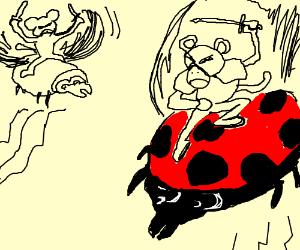 Tiny Flying Combat Monkeys