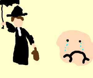 Mary Popins make kids cry.