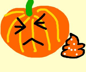 pumpkin is toooo spoopy