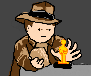 Bobby Hill is Indiana Jones and steals idol