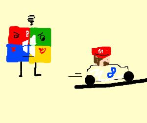 Windows 8 is jealous of Mario Kart 8.