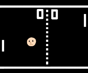 Face-pong.