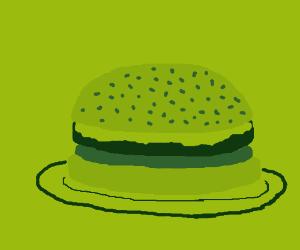 Delicious 8-bit hamburger.
