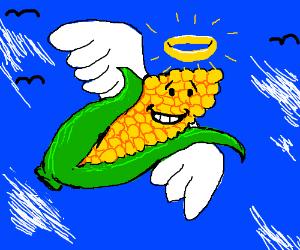 Angel ear of corn