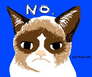 I'm sad. Someone draw me something funny plz